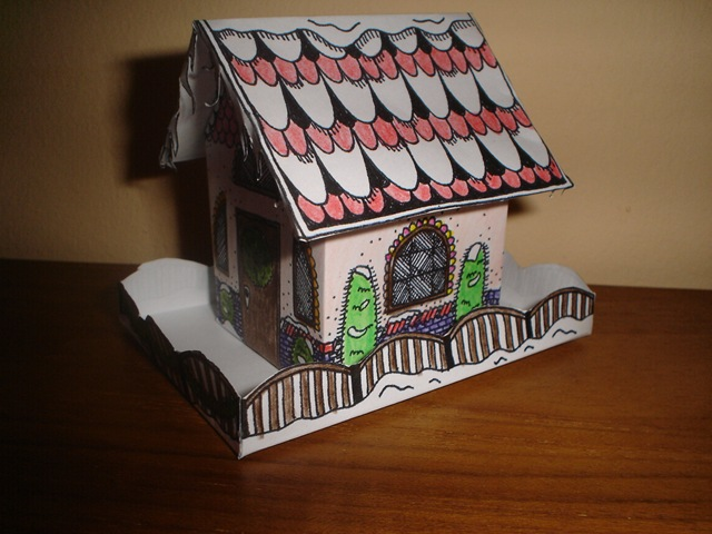 construire une petite maison en papier   l'atelier